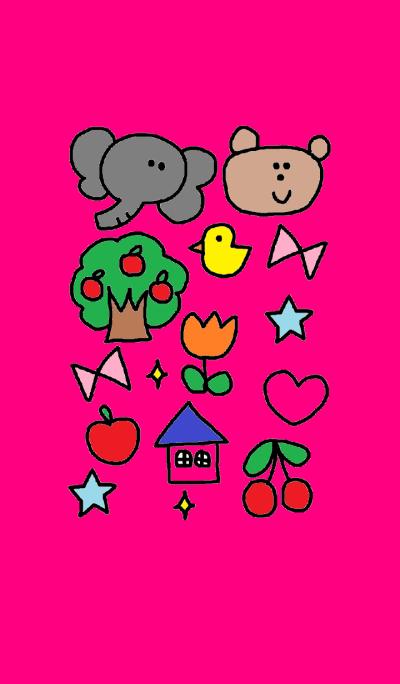(Elephant & kumako )