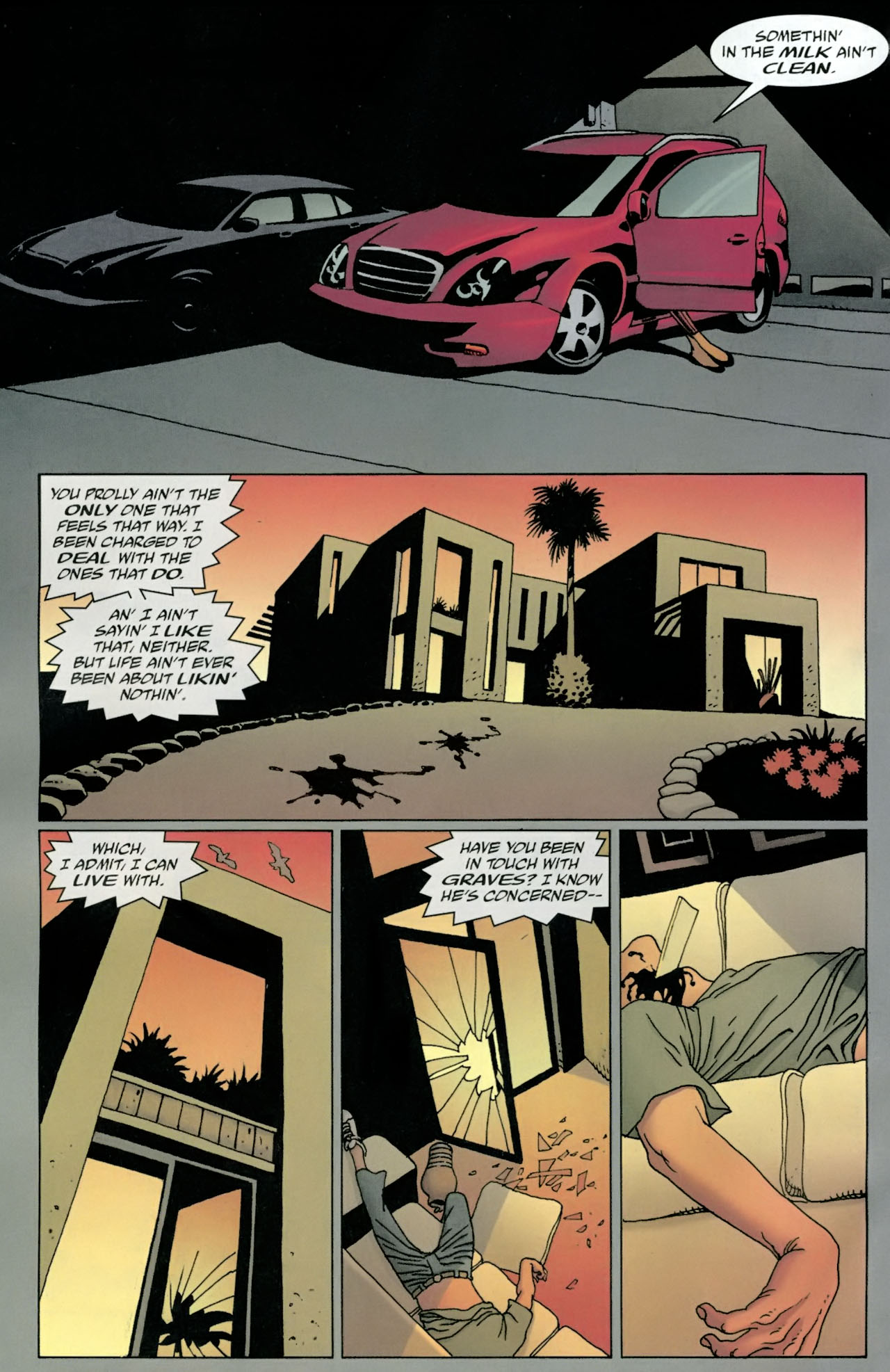 Read online 100 Bullets comic -  Issue #98 - 3