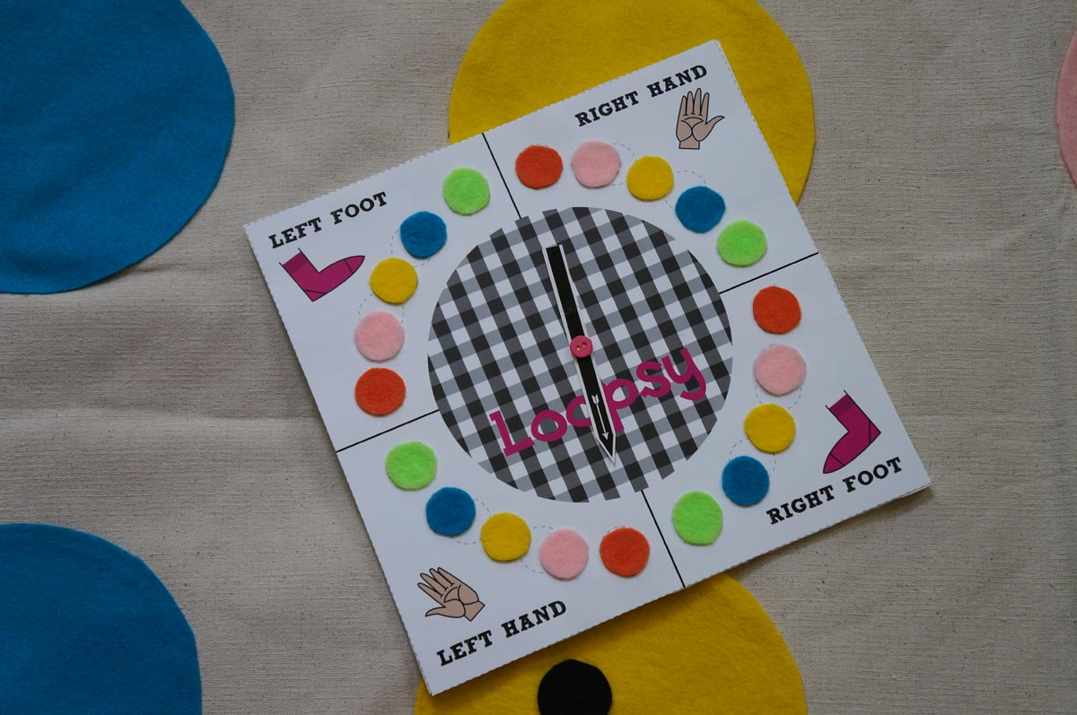 Twister Inspired Lalaloopsy Party Game