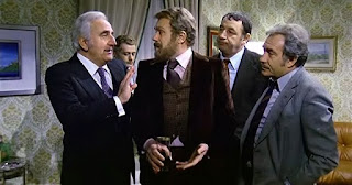 Celi (left) in a scene from the 1975 comedy-drama  Amici miei (My Friends), directed by Mario Monicelli