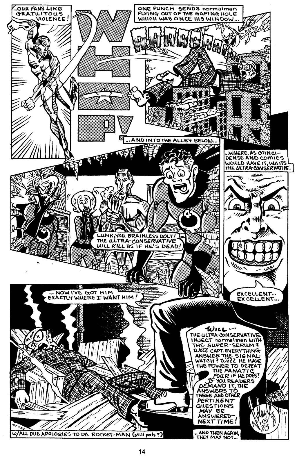 Read online Normalman - The Novel comic -  Issue # TPB (Part 1) - 19