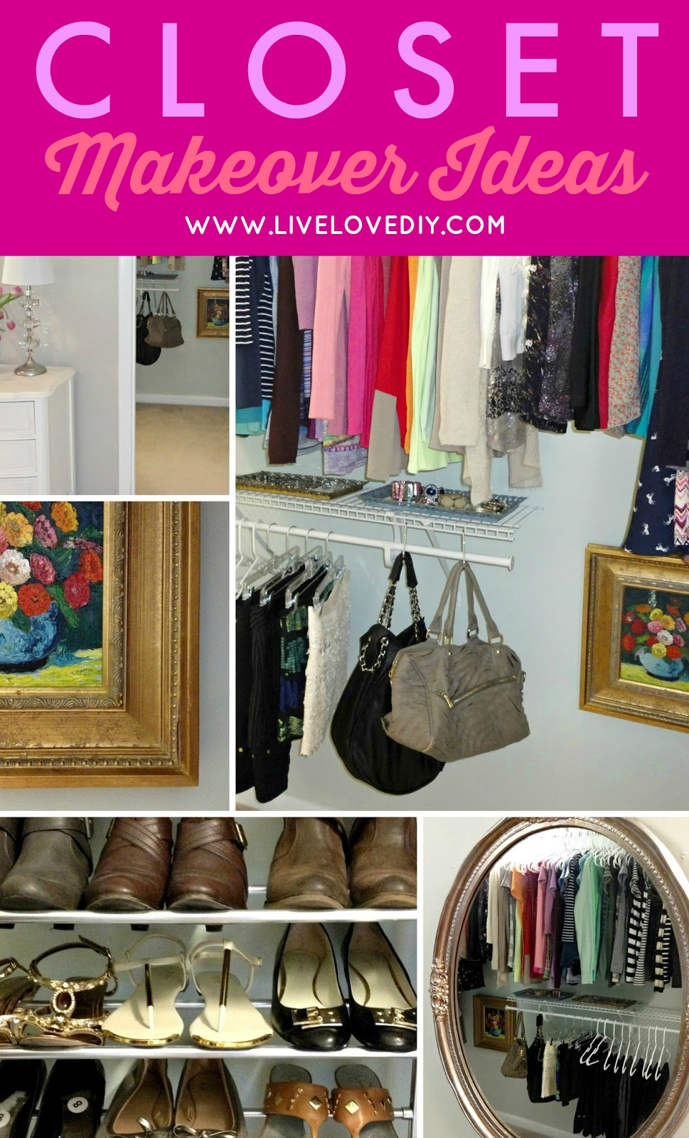How To Turn Your Closet Into A Space You Love For Just 50 This