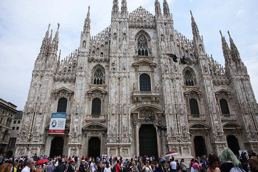 Ciao Milano! How To Do Milan in 24 Hours:  Stay at Palazzo Parigi, dine beside the Duomo of Milan at Obicà Mozzarella Bar and Terrazza Aperol, shop for Valentino and at Galleria Vittorio Emanuele II, take in art & culture at Fondazione Prada, eat at Il Salumaio and Bar Luce, then party at Bar Martini by Dolce & Gabbana AND Cavalli Club.