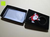 Box öffnen: Hochwertiger weihnachtlicher Schlüsselanhänger
