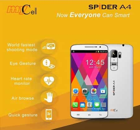 Mycell Spider A4 Smartphone