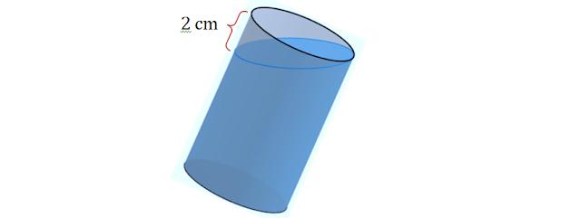 Exercício respondo sobre tronco de cilindro