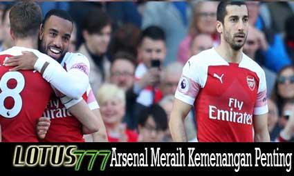 Arsenal Meraih Kemenangan Penting