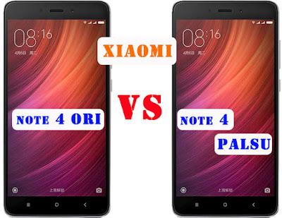 Cara Membedakan Xiaomi Redmi Note 4 Asli dan Palsu