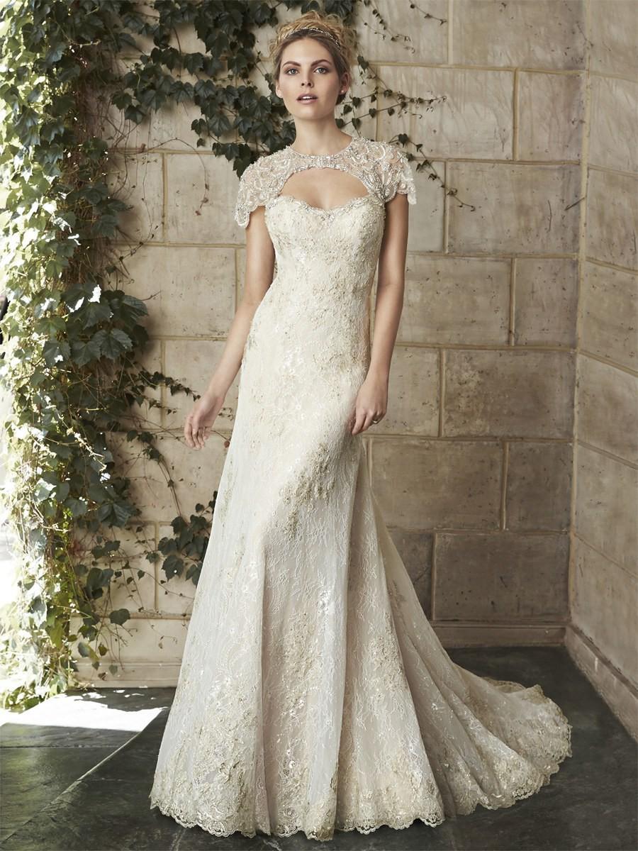 Trumpet/Mermaid Open Back Ivory Lace Beading Sweetheart Wedding Dress