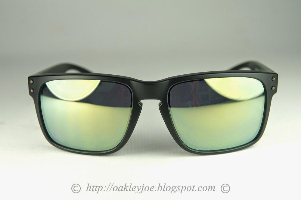 77a63ab4ed8a2 ... closeout oakley holbrook matte black emerald iridium polarized 1a430  32216