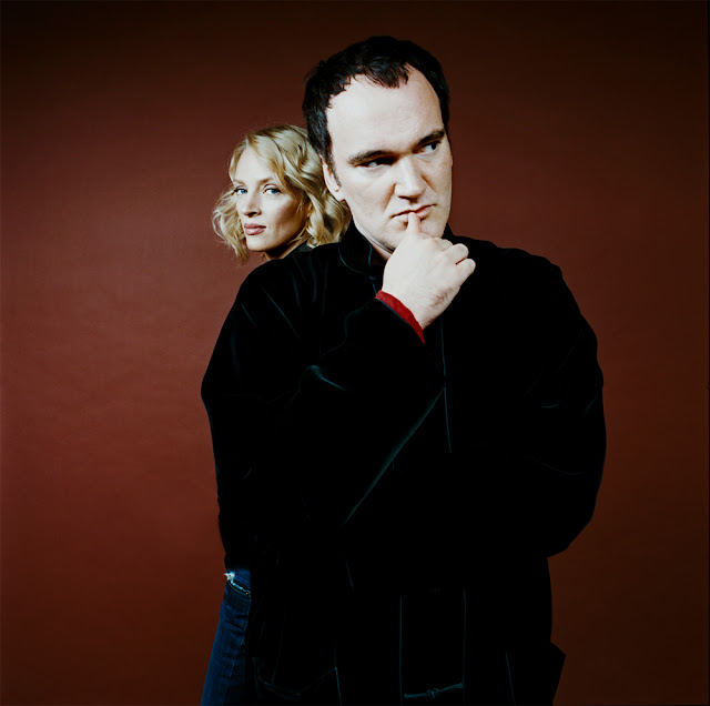 Green Pear Diaries, fotografía, retrato, Denis Rouvre, Quentin Tarantino, Uma Thurman