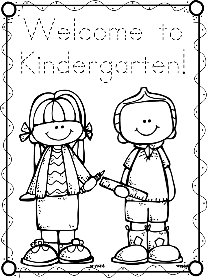 first day coloring pages for second grade | Freebielicious