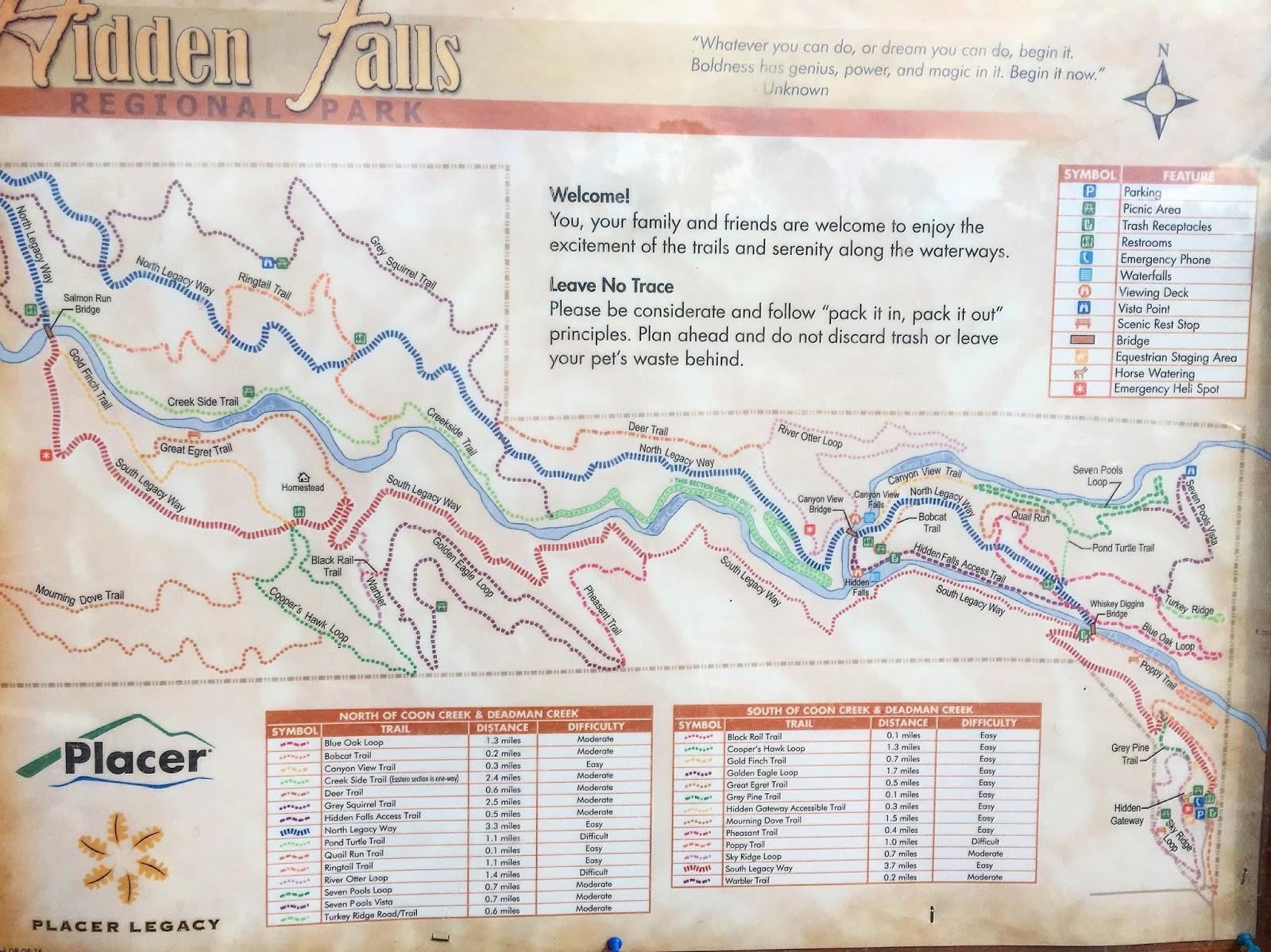 Hidden Falls Trail Map Auburn Ca on hidden falls hike auburn ca, hidden falls park auburn california, hidden falls adventure park trail map,