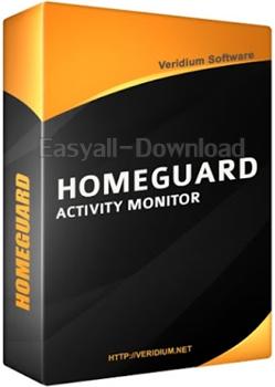 HomeGuard Professional 2.7.1 [x86x64][Full Crack] โปรแกรมติดตามและควบคุมการใช้งานของเครื่องคอม