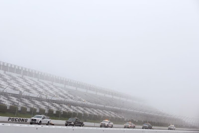 Mother Nature Wins #NASCAR Race at Pocono On Sunday