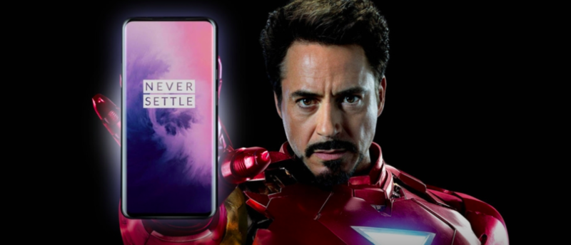 Iron Man himself, Robert Downey Jr., endorses OnePlus 7 Pro!