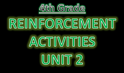 Reinforcement Exercises Unit 2