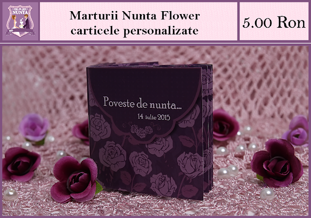 set nunta flower