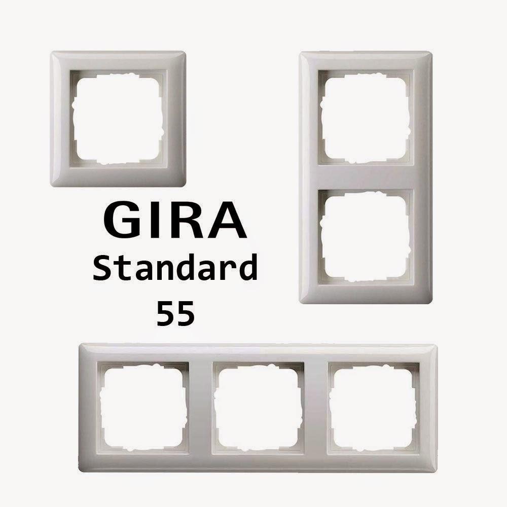 gira outlet power switch frame gira. Black Bedroom Furniture Sets. Home Design Ideas