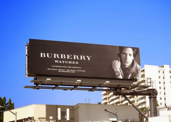 Burberry watches Britain Rob Pryor billboard