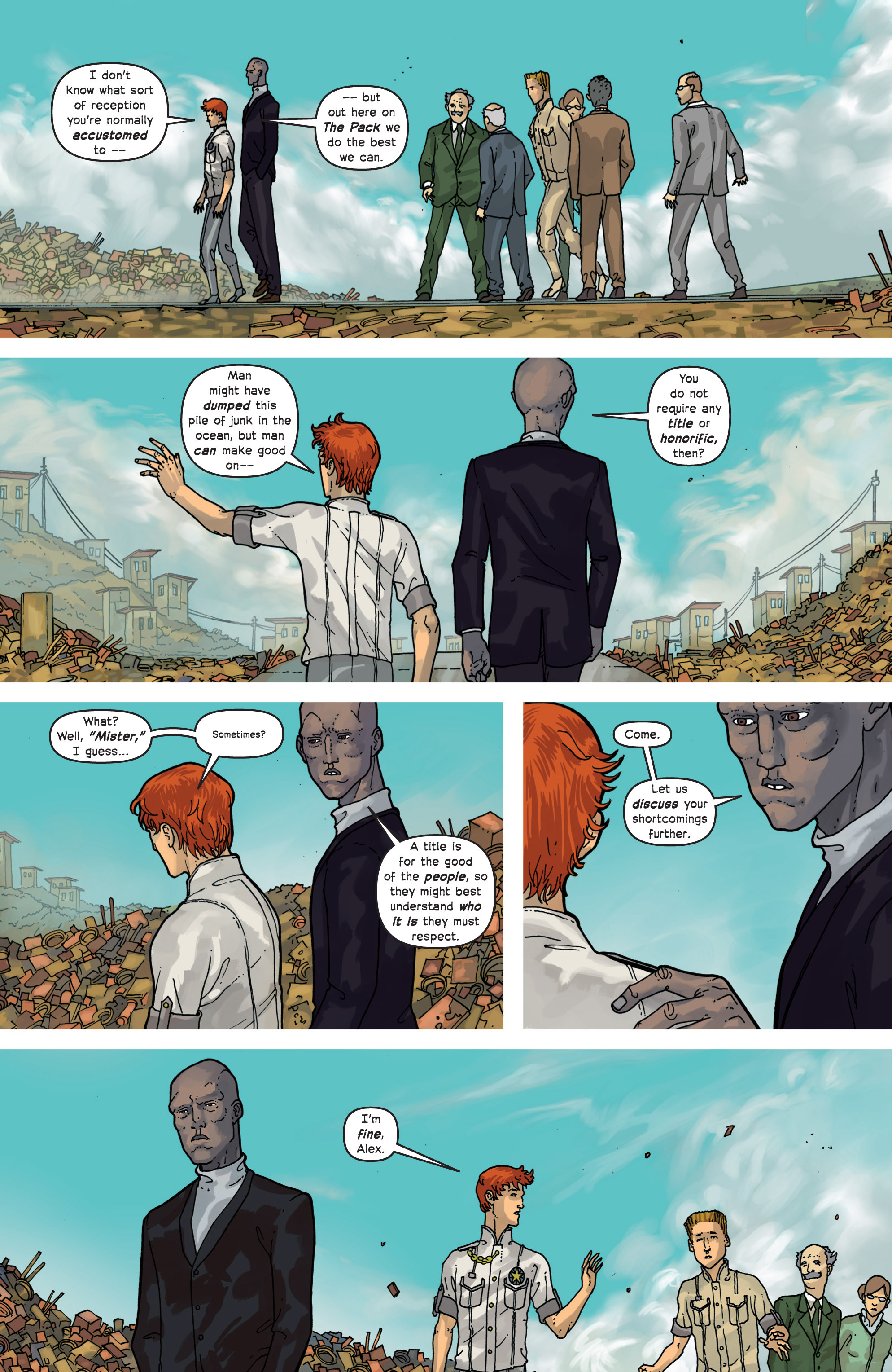 Read online Great Pacific comic -  Issue #9 - 7