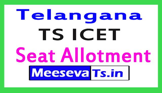TS ICET Seat Allotment