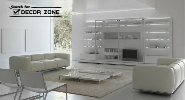 white living room furniture sets 17 ideas and designs. Black Bedroom Furniture Sets. Home Design Ideas