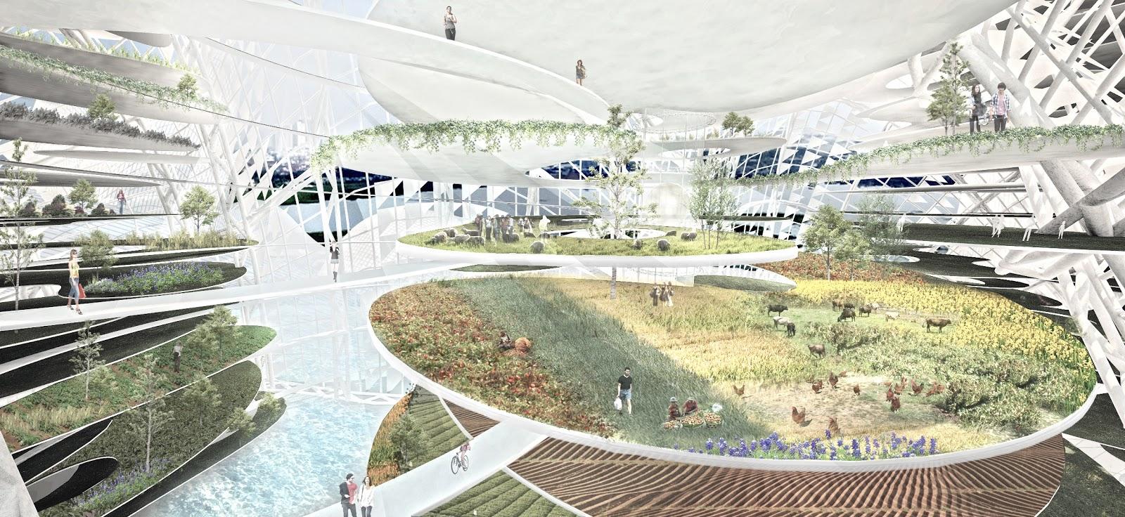 coba coba gonzo fluidscape city urban development for contemporary reservoir city project. Black Bedroom Furniture Sets. Home Design Ideas