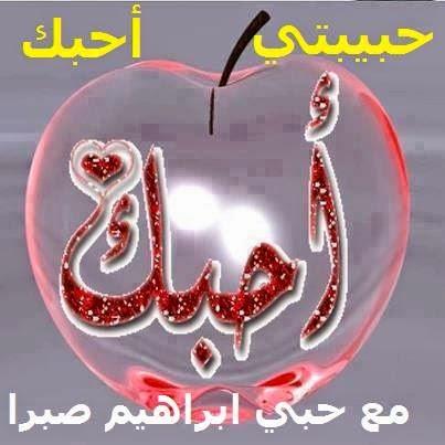 جريدة القلم الفصيح حبيبتي أحبك بقلم ابراهيم صبرا