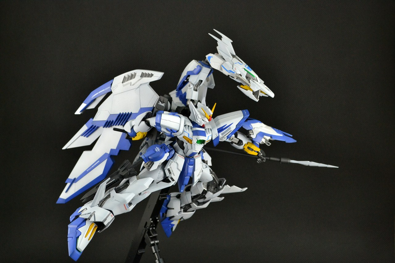 MG 1/100 Epyon Bai/ White Nataku customized build - Gundam ...