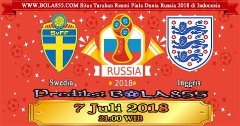 Prediksi Bola855 Sweden vs England 7 Juli 2018