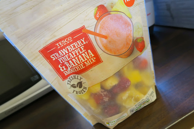 strawberry and banana smoothie mix