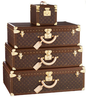 Louis Vuitton Leather Luggage sets