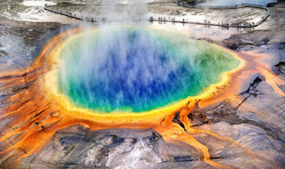 Yellowstone national park may erupt.