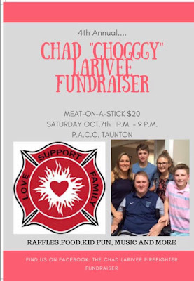 "4th Annual ""Choggy Strong"" Firefighter Fundraiser - Oct 7"