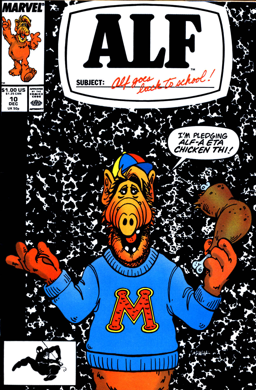 Read online ALF comic -  Issue #10 - 1