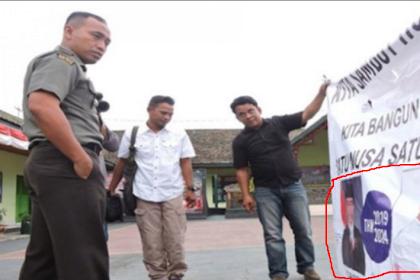 Tak Gentar, Dandim Copot Spanduk Panglima TNI, Ini Isi Spanduknya