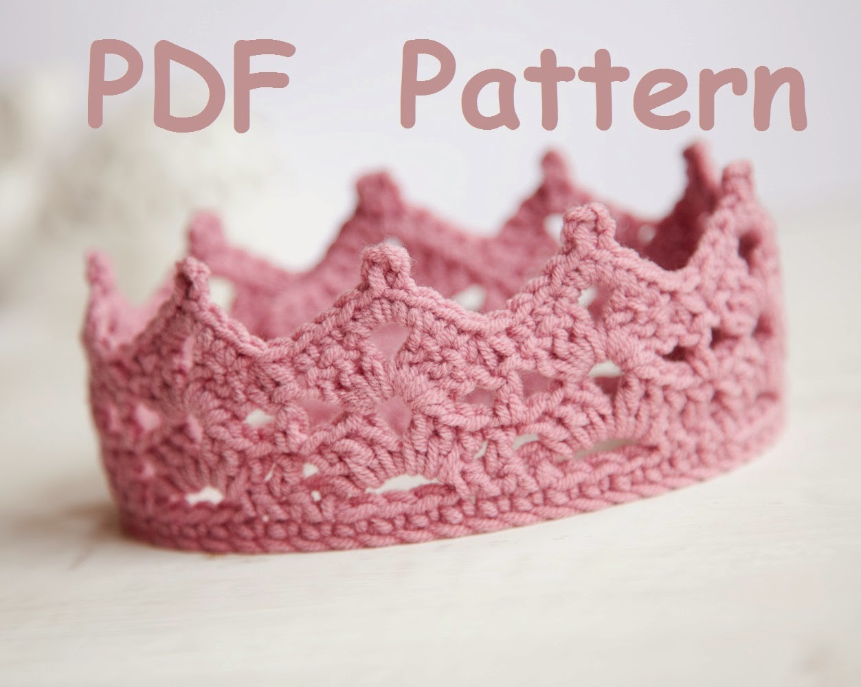 Crochet Baby Crown Headband Pattern : Lana creations My knitting work, knit project and free ...