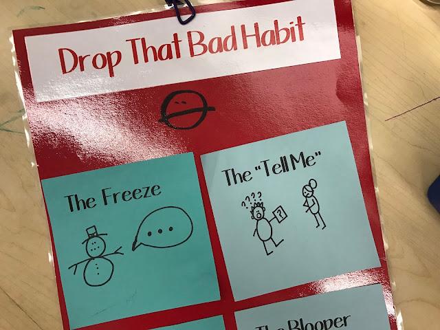 drop that bad habit