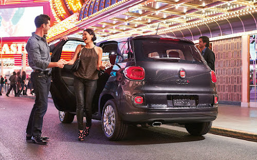 Fiat 500L night on the town