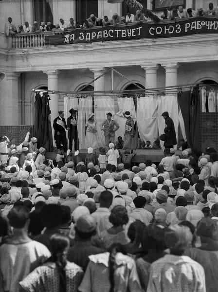 Театральное представление в Ливадийском дворце