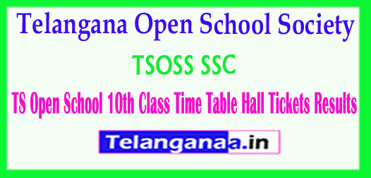 TOSS TS Telangana Open School SSC Notification Fee Payment Exam Time Table Hall Tickets Results