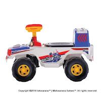 Mobil Mainan Anak SHP SRJ600 Polisi Jalan Raya