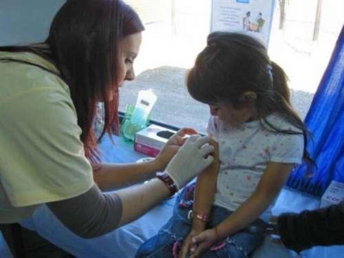 Brote de sarampión en Ambato