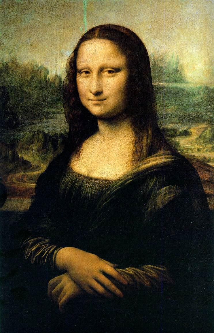Mona Lisa - Leonardo da Vinci - A pintura mais famosa do mundo