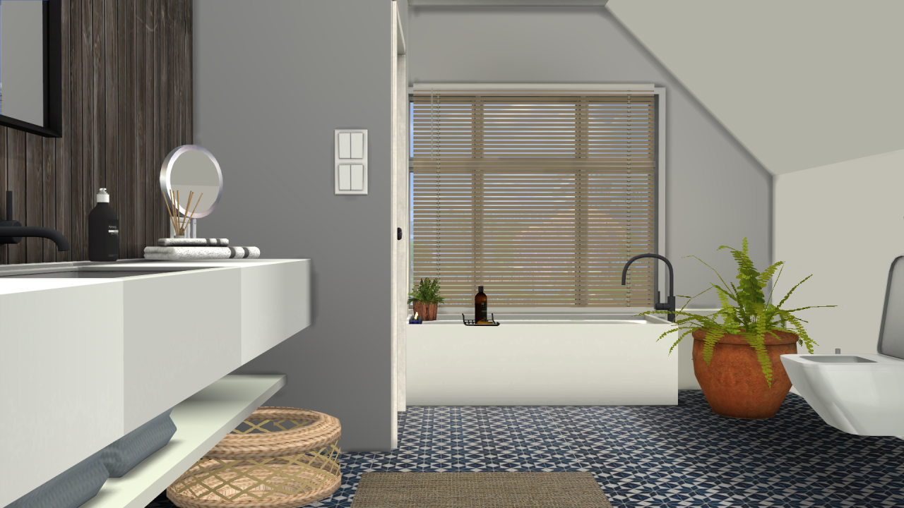 MS91 Orama Bathroom Conversion By SanoySims
