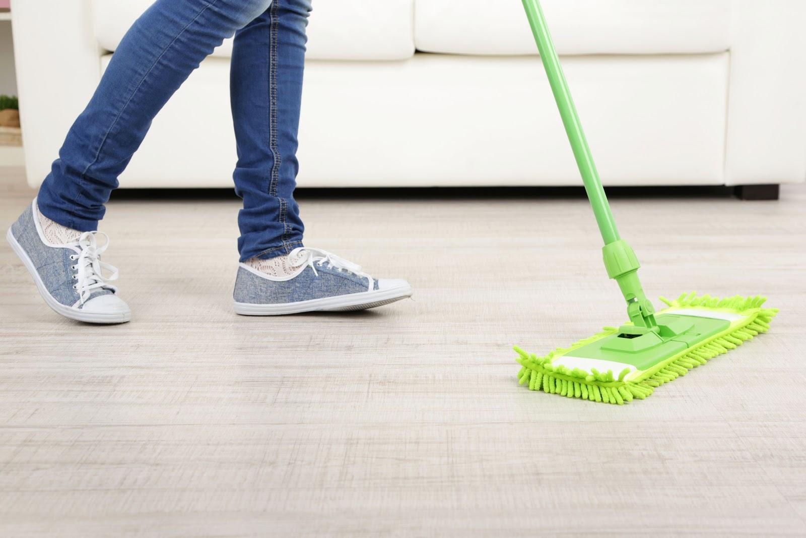 Hogar diez c mo limpiar suelos de parquet - Como limpiar suelos de barro ...