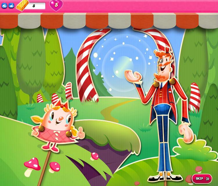 Candy Crush Saga level 2811-2825