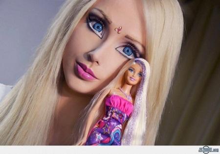 Valerya Lukyanova barbie humana