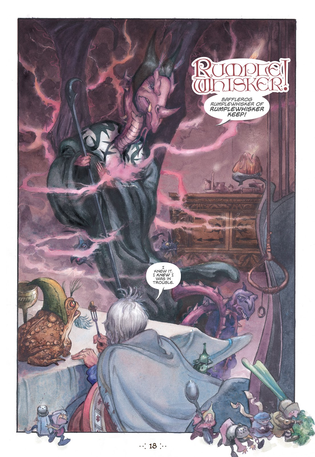 Read online The Wizard's Tale comic -  Issue # TPB - 17